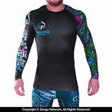 Ground Game Black Dragon Grappling Rashguard
